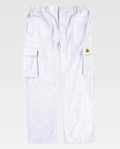 Pantalón Blanco (delantero)