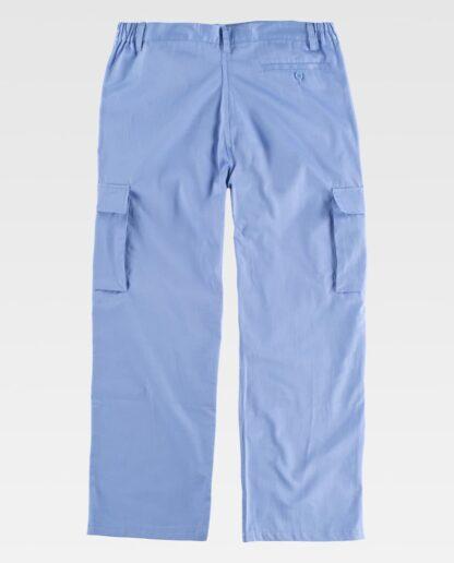 Pantalón Celeste (espalda)