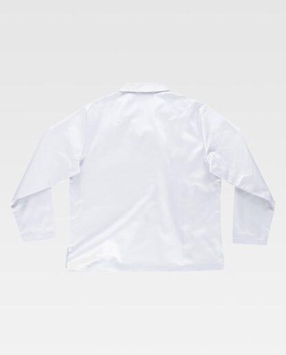 Casaca blanca (espalda)