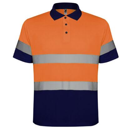 Marino / Naranja Fluor